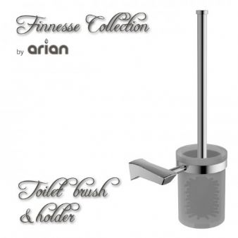 Arian Finesse Toilet Brush and Holder